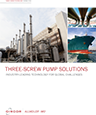 Three-screw pumps