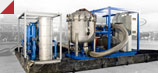 Commissioning oil flush